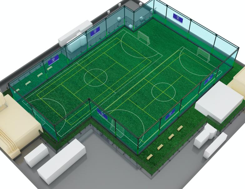 横浜鴨居素フィーダテニススクール施設画像